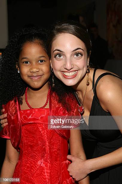 Vivicia and Alexa Ray Joel during The 3rd Annual Ten O'Clock Classics Gala Event at Tribeca Rooftop at 2 Desbrosses Street in New York City New York...