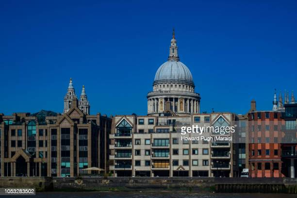 Vivid Colourful City of London