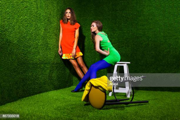vivid fashion - high fashion stock pictures, royalty-free photos & images
