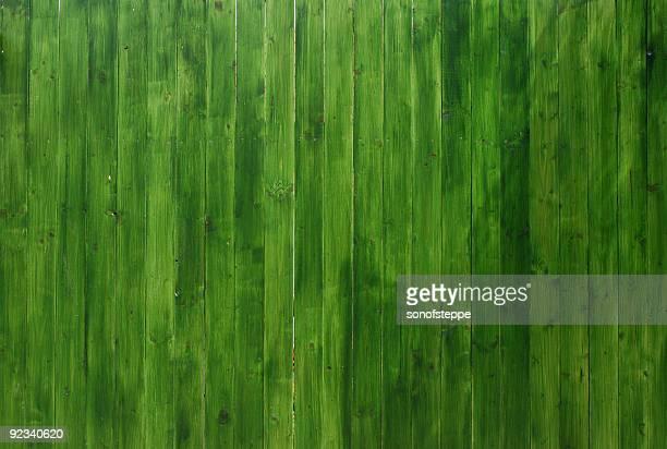 Vivid Green Wooden Texture