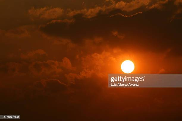 Vivid sunset / Atardecer intenso