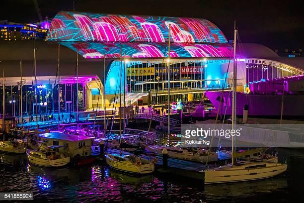 Vivid Sydney - National Maritime Museum