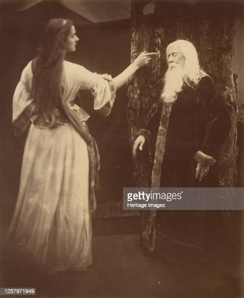 Vivien and Merlin 1874 Artist Julia Margaret Cameron