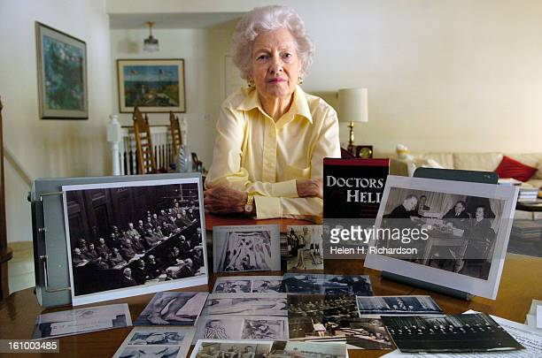 Vivien <cq> Spitz <cq> 81 <cq> was a young court reporter during the Nurember trials in Germany. She presided over the hearings of 20 doctors and 3...
