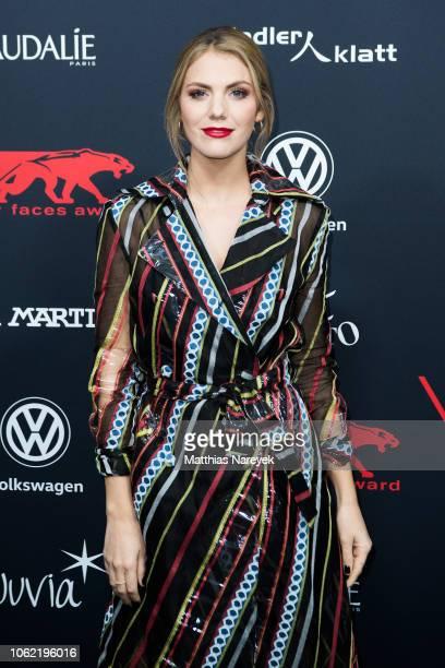 Vivien Gebhardt attends the New Faces Award Style 2018 at Spindler Klatt on November 15 2018 in Berlin Germany