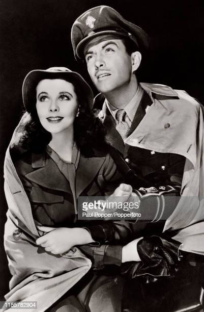 """Vivien Leigh and Robert Taylor starring in the 1940 film """"Waterloo Bridge"""". Robert Taylor , American film and television actor. Taylor was one of the..."""