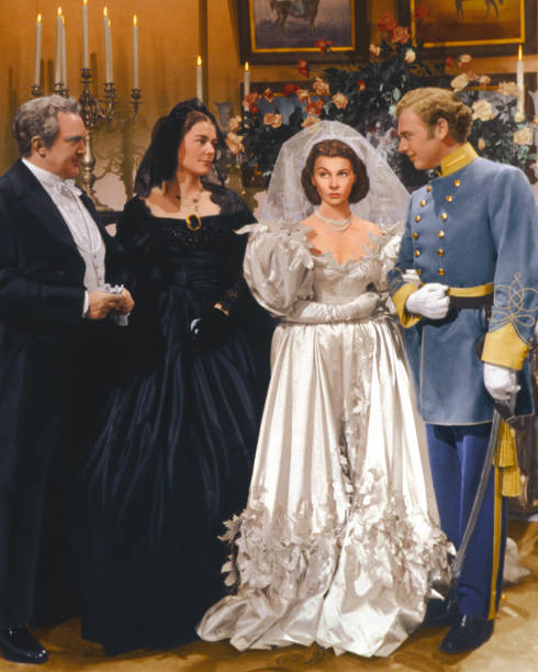 Wedding In White Film: Gone With The Wind Pictures