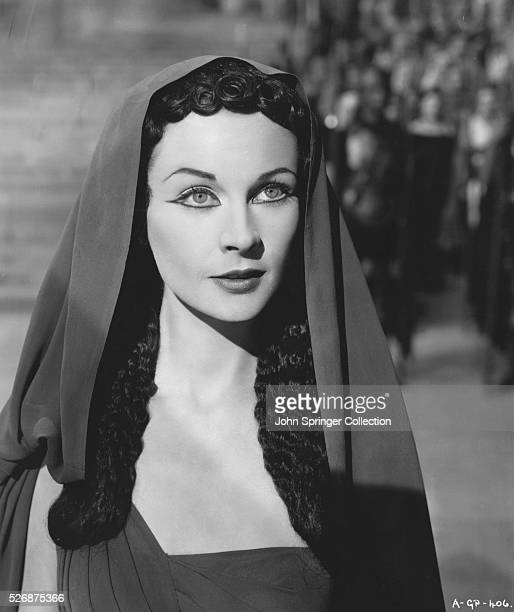Vivien Leigh plays the role of Cleopatra in Bernard Shaw's Caesar and Cleopatra also starring Claude Rains