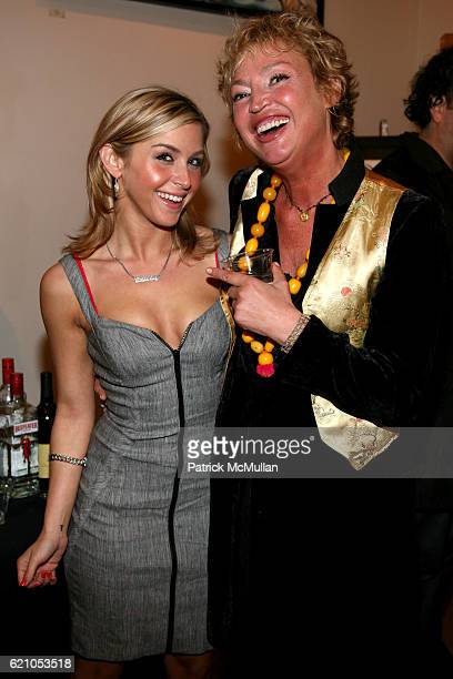Vivien Ponte and AnneLaure Lyon attend JANE GANG 'Cash Only' jewelry launch hosted by Josh Briggs at May 20 on May 20 2008