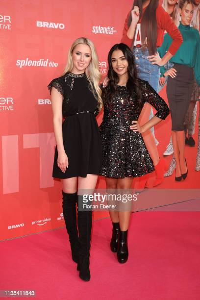Vivien Wulf and Selina Mour attend the Misfit world premiere on March 9 2019 in Cologne Germany