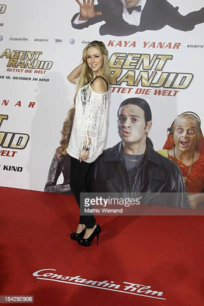 Vivien Wulf attends the 'Agent Ranjid' Germany Premiere on October 17 2012 in Cologne Germany