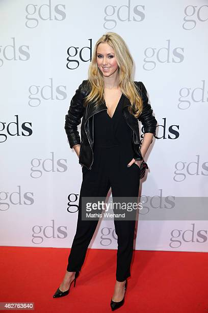 Vivien Wulf attends the GDS Grand Opening Party on February 4 2015 in Duesseldorf Germany
