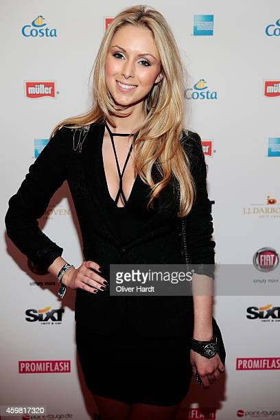 Vivien Wulf poses during the event 'Movie Meets Media' at Hotel Atlantic on December 1 2014 in Hamburg Germany