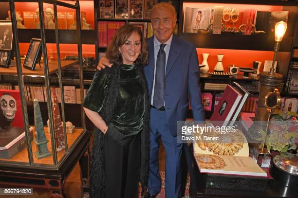 Vivienne Becker and Fawaz Gruosi attend the launch of 'Daring Creativity' a book which celebrates de Grisogono's jewellery hosted by Fawaz Gruosi and...