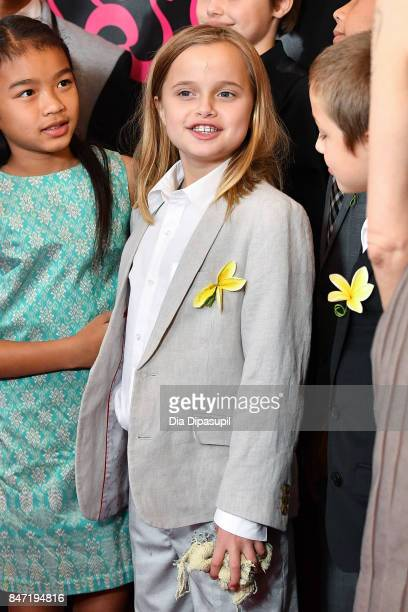 Vivienne JoliePitt attends the First They Killed My Father New York premiere at DGA Theater on September 14 2017 in New York City