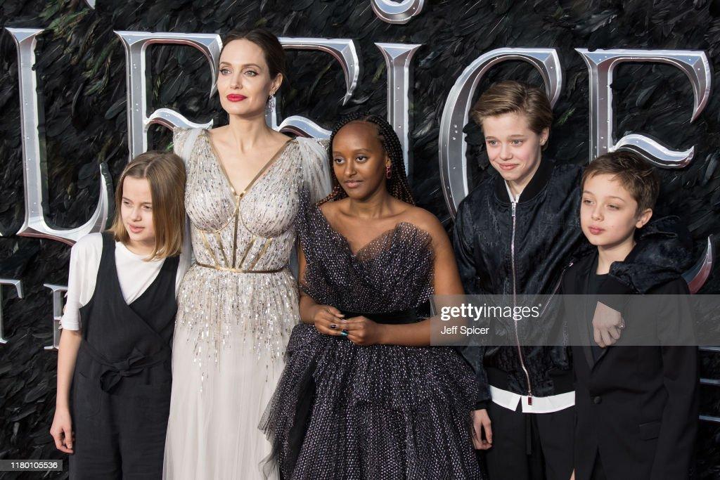 Vivienne Marcheline Jolie Pitt Angelina Jolie Zahara