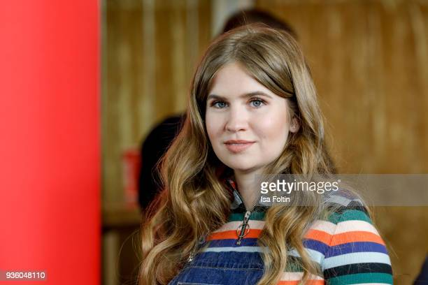 Vivienne Maria Rojinski sister of Palina Rojinski during the 'Jerks' premiere at Zoo Palast on March 21 2018 in Berlin Germany