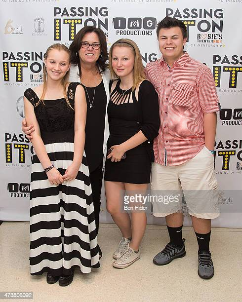 Vivienne Rose O'Donnell Rosie O'Donnell Chelsea Belle O'Donnell and Blake Christopher O'Donnell attend the 5th Annual Rosie's Theater Kids Spring...