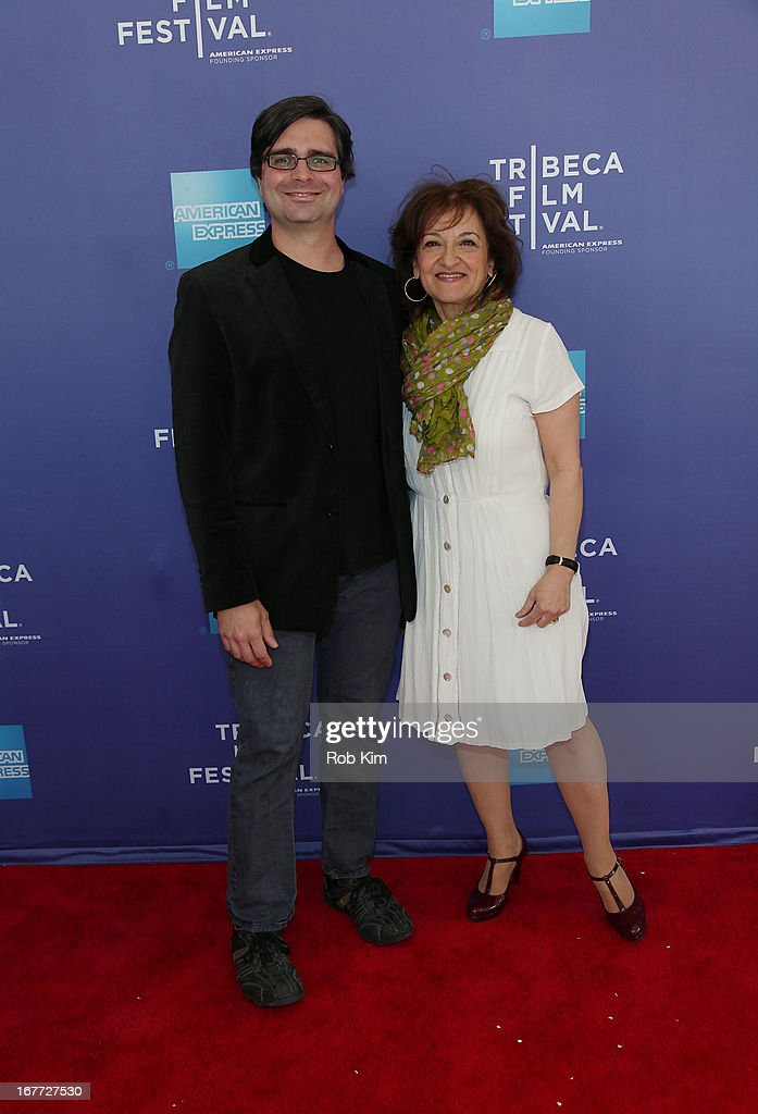 Vivienne Roumani (R) and Brian Dettmer attend Tribeca Talks After The Movie: 'Out Of Print' during the 2013 Tribeca Film Festival on April 28, 2013 in New York City.