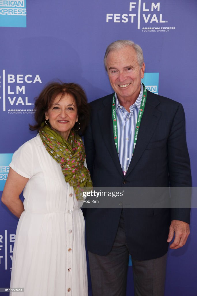 Vivienne Roumani and Ken Auletta attend Tribeca Talks After The Movie: 'Out Of Print' during the 2013 Tribeca Film Festival on April 28, 2013 in New York City.