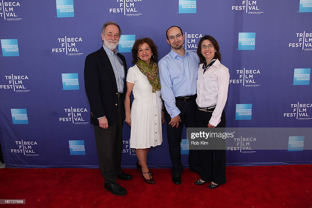 Vivienne Roumani (2nd L) with guests attend Tribeca Talks After The Movie: 'Out Of Print' during the 2013 Tribeca Film Festival on April 28, 2013 in New York City.