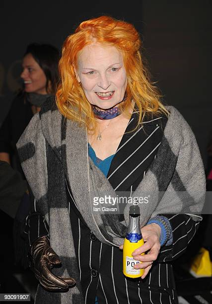 Vivienne Westwood a her Anglomania Spring / Summer 2010 Catwalk Show at Selfridge's on November 16 2009 in London England