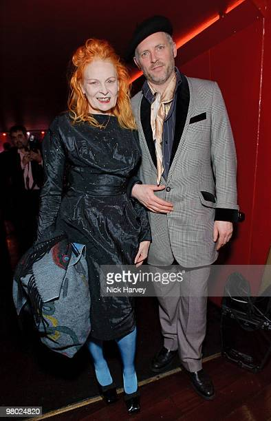 Vivienne Westwood and Joe Corre attend The ICA Fundraising Gala at KOKO on March 24, 2010 in London, England.