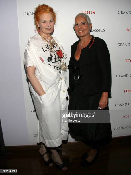 Vivienne Westwood and Rosa Tous