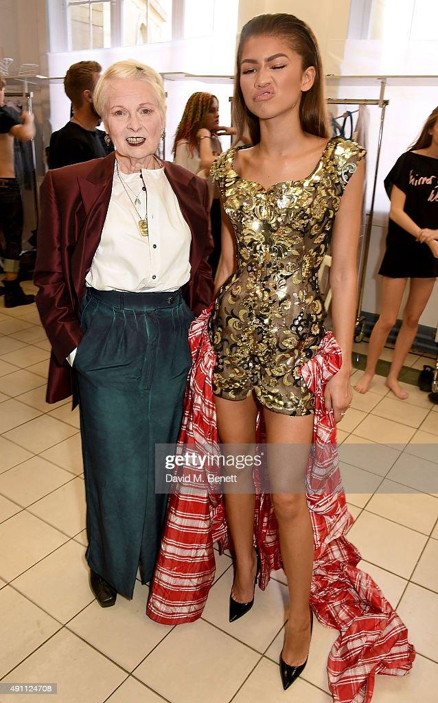 Vivienne Westwood : Backstage - Paris Fashion Week Womenswear Spring/Summer 2016