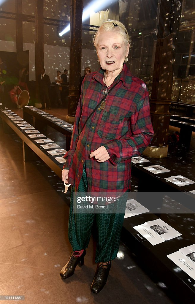 Vivienne Westwood : Front Row - Paris Fashion Week Womenswear Spring/Summer 2016
