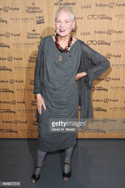 Vivienne Westwood attends OFFtheGRID London event with Vivienne Westwood Trillion Fund and Findinginfinity on September 4 2014 in London England