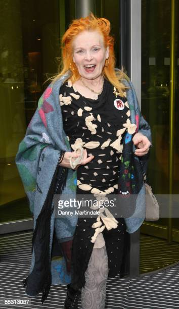 Vivienne Westwood attends Simon Aboud book launch party at the St Martins Lane Hotel on June 8 2009 in London England