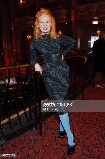 Vivienne Westwood attends The ICA Fundraising Gala at KOKO on March 24, 2010 in London, England.