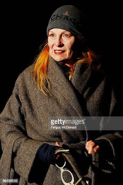 Vivienne Westwood attends the UK premiere for 'Food Inc' held the at The Curzon Mayfair on February 8 2010 in London England