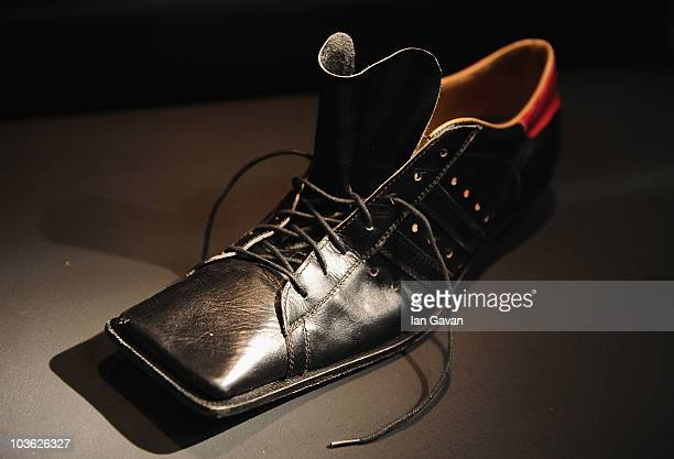 d67fa0b176 Vivienne Westwood designed Hammerhead Trainer from 1981 is displayed prior  to 'Vivienne Westwood Shoes An
