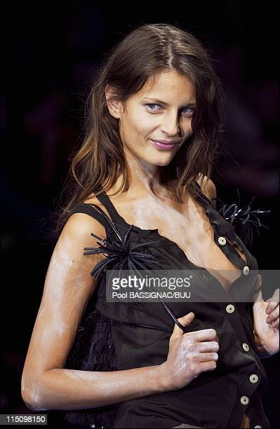 Vivienne Westwood Spring-summer 2004 ready-to-wear collection in Paris, France on October 08, 2003.