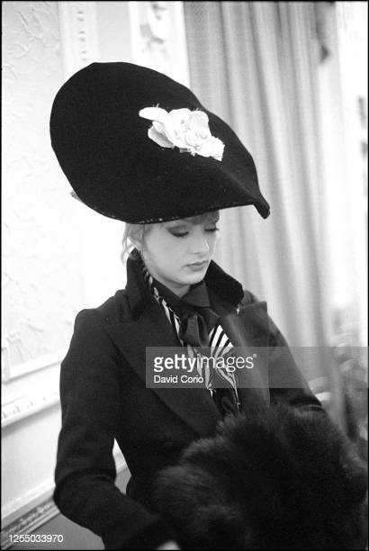 """Vivienne Westwood World's End Fashion show """"Pirates"""", Autumn/Winter 1981-82, the first catwalk show of Vivienne Westwood and Malcolm McLaren, at..."""