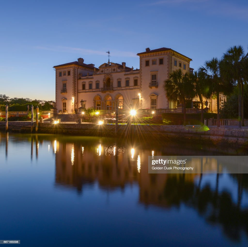 Vizcaya Museum And Gardens Coconut Grove Stock Photo   Getty Images