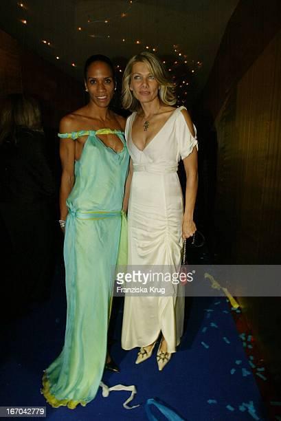 Barbara Becker Und Schauspielerin Ursula Karven Bei Der Aftershow Party Der 54 Verleihung Des Medienpreises Bambi