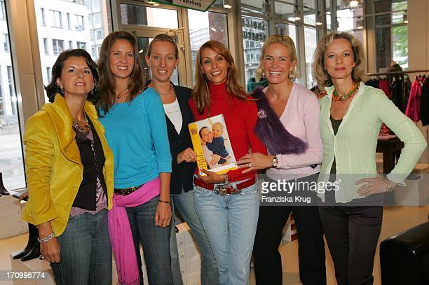 Claudia Obert Dana Schweiger Leila Moysich Yasmina Filali Helmer Claudia Effenberg Und Mareike Carriere Beim FashionCharityDay Unter Dem Motto Engel...