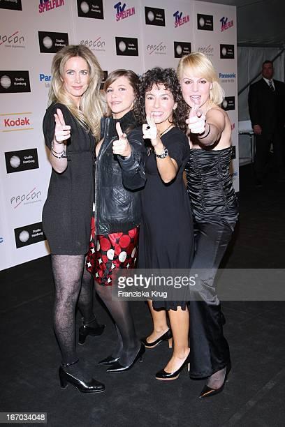 "Dorothea Schenk, Sophie Moser, Maria Ketikedou Und Anja Nejarri Beim ""Studio Hamburg Nachwuchspreis"" Bei Studio Hamburg In Hamburg ."