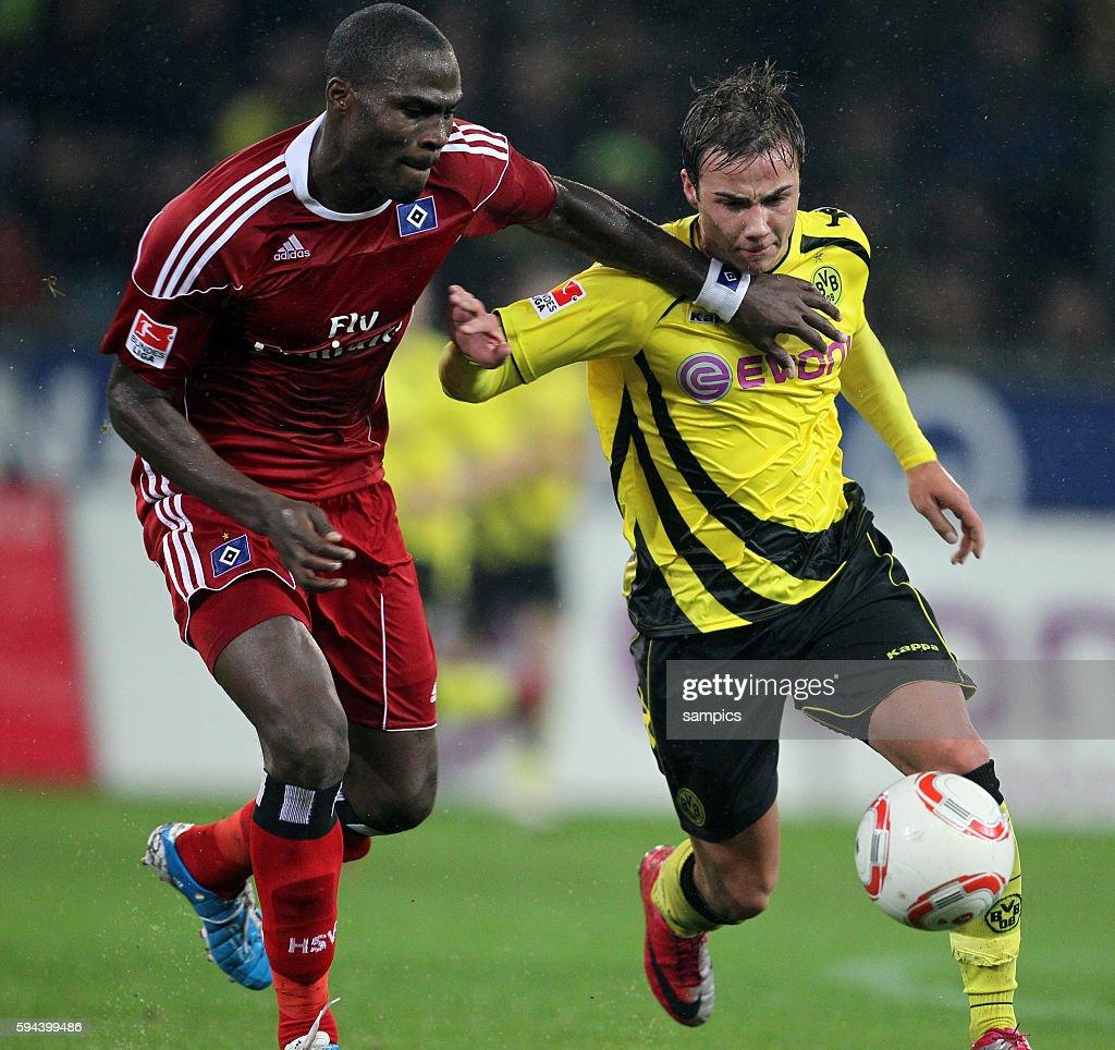 Guy Demel Mario Gotze Fussball 1 Bundesliga Borussia
