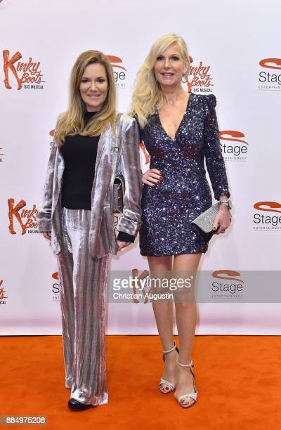 "L.: Jessica Stockmann and Marion Fedder attend ""Kinky Boots"" Premiere at Stage Operettenhaus on December 3, 2017 in Hamburg, Germany."