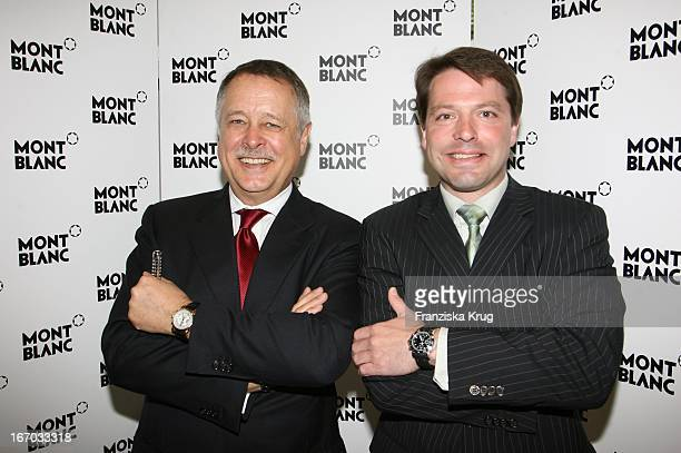 Wolff Heinrichsdorff Und Thomas Schnädter Beim Montblanc De La Culture Arts Patronage Award 2006 In Der Trafohalle In München Am 180506 Photo by...