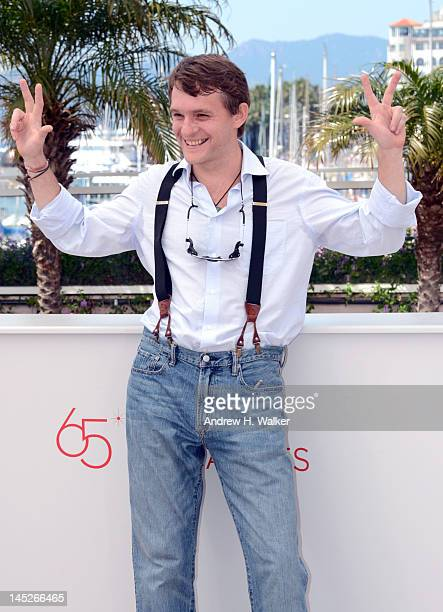 Vlad Abashin poses at the V Tumane photocall during 65th Annual Cannes Film Festival at Palais des Festivals on May 25 2012 in Cannes France