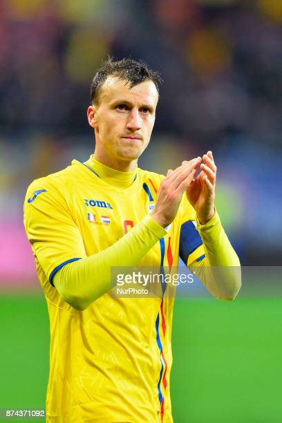 Vlad Chiriches during the International Friendly match between Romania and Netherlands at National Arena Stadium in Bucharest Romania on 14 november...