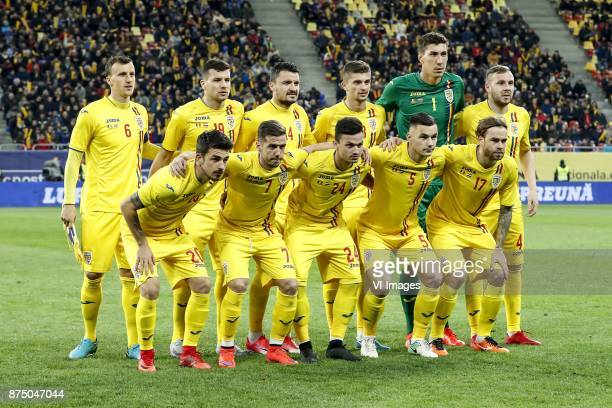 Vlad Chiriches of Romania George Tucudean of Romania Constantin Budescu of Romania Florin Tanase of Romania goalkeeper Costel Pantilimon of Romania...