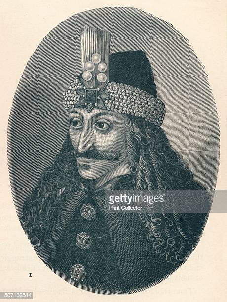 Vlad III Prince of Wallachia' c1906 Vlad III Prince of Wallachia posthumously dubbed Vlad the Impaler Voivode of Wallachia From The World's History...
