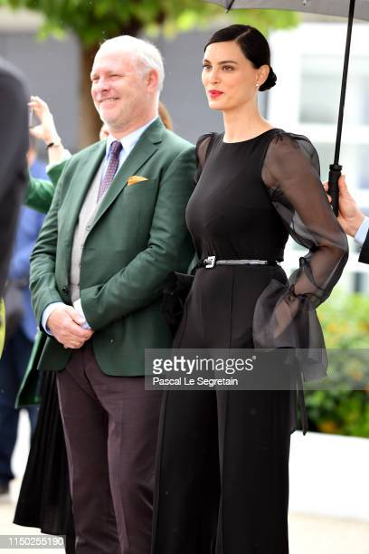"Vlad Ivanov and Rodica Lazar attend the photocall for ""The Whistlers "" during the 72nd annual Cannes Film Festival on May 19, 2019 in Cannes, France."
