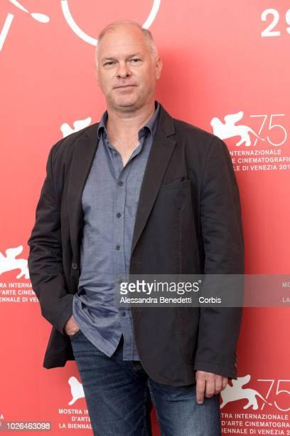 Vlad Ivanov attends 'Napszallta ' photocall during the 75th Venice Film Festival at Sala Casino on September 3 2018 in Venice Italy